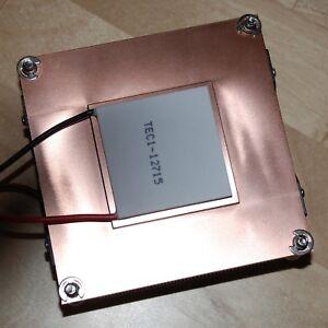 Solid-Copper-Turbo-Fan-Radiator-cpu-heatsink-cooler-for-Peltier-LED-up-to-200W