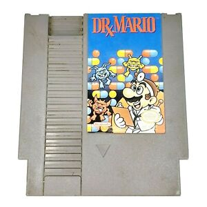 Dr Mario NES Nintendo Entertainment System Cartridge Only Classic Puzzle Game