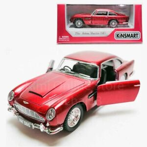 Kinsmart-1-38-Die-cast-1963-Aston-Martin-DB5-Car-Red-Model-with-Box-Collection