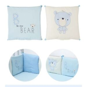 6Pcs-Nursery-Bedding-Cushion-Set-Baby-Cot-Bed-Soft-Toddler-Crib-Bumper-Protector