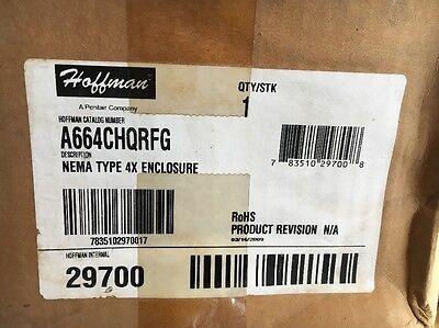 Hoffman A664CHQRFG Nema Type 4X Enclosure.