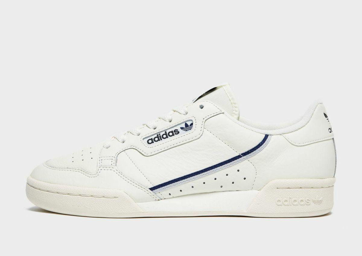 Authentic New adidas Originals Continental 80 ® ( Men Größe UK 6 & 10 ) Weiß