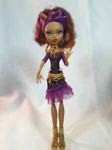 Monster High Doll Clawdeen Wolf Frights Camera Action   eBay