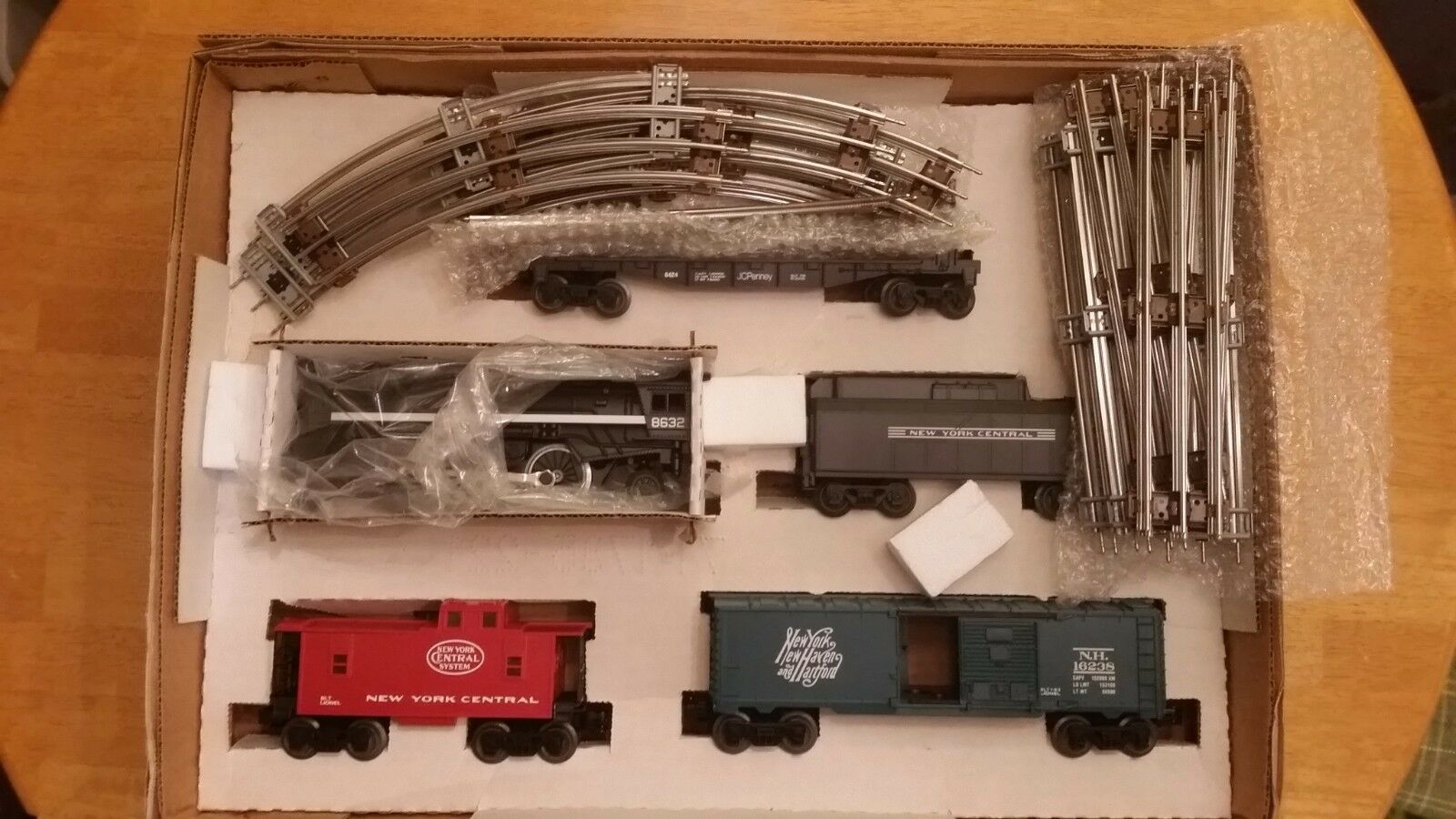 NYA MIB O Gage Lionel 6 -21932 JC Penney New York Central Central Central särskild Train Set