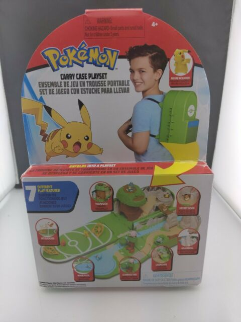 NEW 2020 Pokemon Carry Case Backpack Play Set FAST Shipping