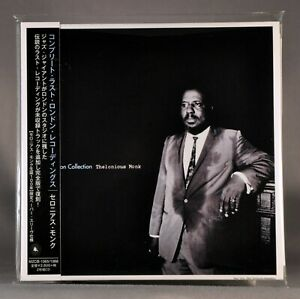 Thelonious-MONK-London-1-Orig-2018-Factory-Seald-JAPAN-Mini-LP-CD-x2-MZCB-1365