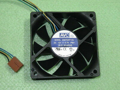 20for AVC DS06025B12U 6025 60x25mm Ball Bearing Cooler Cooling Fan 12V 0.7A 4Pin