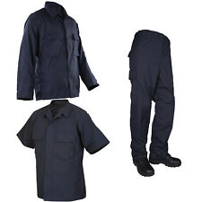 Protocol Tactical Poly/Cotton Navy Blue Anti Static Durable Rip Stop Uniform
