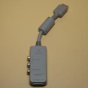 Official Sony Playstation PS1 AV Multi Out | AV Adapter SCPH-1160 Made in Korea