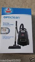Genuine Bissell Opticlean Bag Filters Kit Model 59h6 For 42q8 Series Vacuums