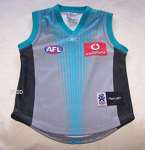 Port Adelaide AFL Youth Reebok 2008 Clash Guernsey Jersey Size S ... 76ce61f06