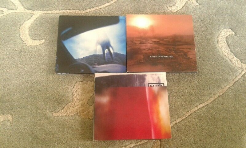 Nine inch nails NIN cd collection for sale