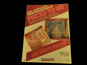 1985 Montgomery Ward Catalog Clearance Priced 99p Toys Care Bears Home  A60a