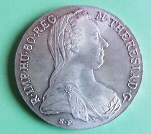 Silbermünze Maria Theresia Taler 1780 Ebay