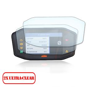 2x-KTM-Super-Duke-690-790-1290-Display-Tachoschutzfolie-ScreenProtector-Orginal