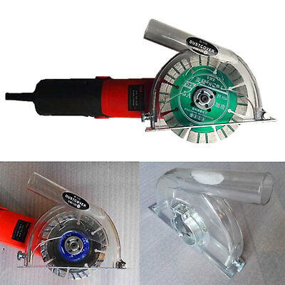"4"" 5"" Protective Angle Hand Grinder Dust Shroud Cover Hood Cutting Safety Guard"