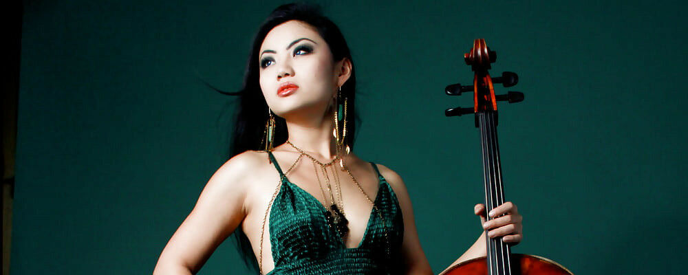 Tina Guo with San Diego Civic Youth Orchestra