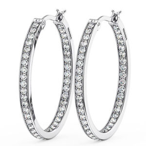 1-20CT-Round-Brilliant-Cut-Diamond-Hoop-Earring-in-Metal-18K-White-Gold
