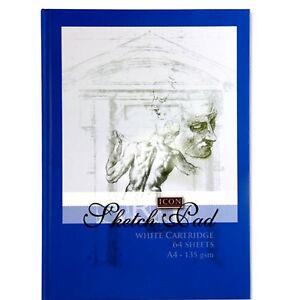 Details Sur A4 Carnet De Croquis Dessin Livre Artist Sketch Book A4 135gsm Bleu Afficher Le Titre D Origine