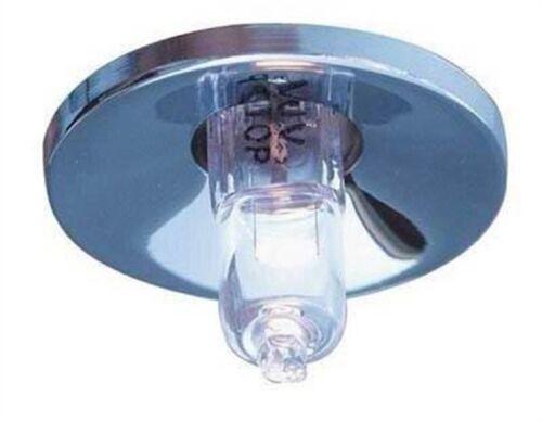 Supporto rotondo da incasso porta faretto per lampadine led G4 12V foro 26mm