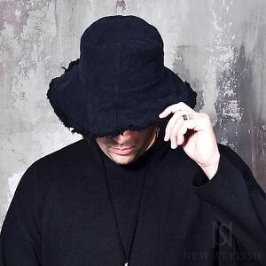 14db3b4c1c4 NewStylish Mens Fashion Accessories Distressed Wired Brim Denim Crusher Hat