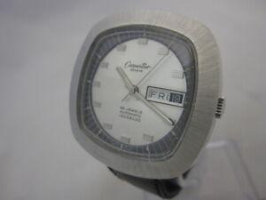 NOS-NEW-SWISS-ST-STEEL-WATER-RESIST-AUTOMATIC-BIG-CARPENTIER-WATCH-1960-039-S