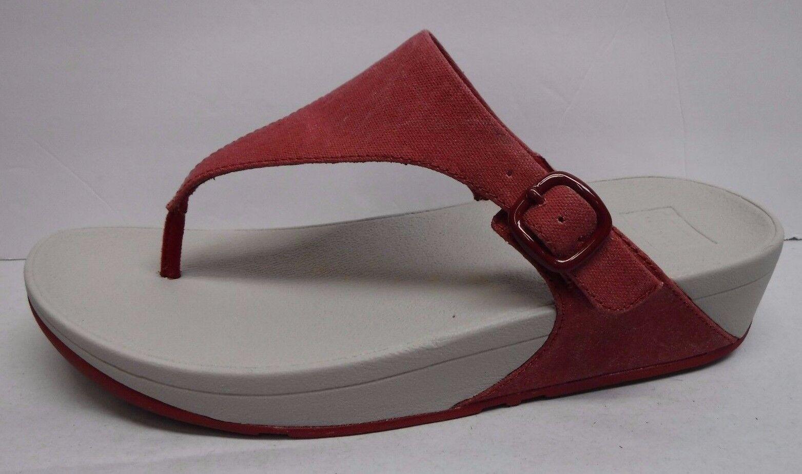 Fitflop Fit Flop Größe 10 ROT Sandales NEU Damenschuhe Schuhes