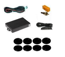 Black 8 Point Front & Rear Parking Sensor Kit with Display - Mercedes CLK CLS