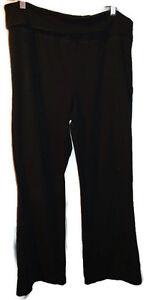 Juniors No Boundaries Size XL 15-17 Black Pants Wide Stretch Waist Band