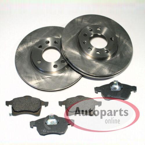 Opel Astra H 5 Loch Bremsscheiben Bremsbeläge für vorne die Vorderachse
