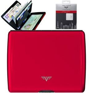 TRU-VIRTU-Aluminium-Brieftasche-Geldbeutel-Portemonnaie-Geldboerse-Geldtasche
