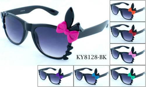 Pairs Sunglasses Bunny Ears Party Eyewear Colorful Ribbon UV Protected 2 Two