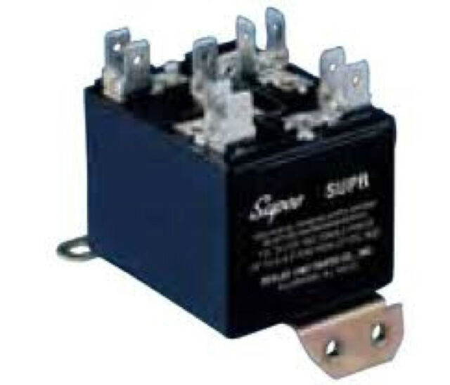 Supco SUPR Universal Potential Relay 110-270 Operating Voltage, Single Phase