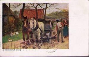 qc3-Postcard-A-Neighborly-Chat