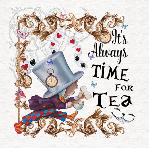 Qulting Mad Hatter Tea Time Craft Panel Alice In Wonderland