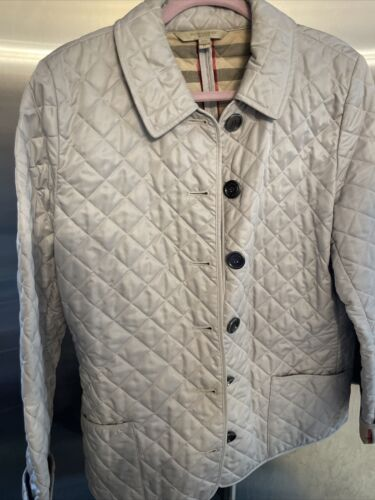 burberry quilted jacket XL