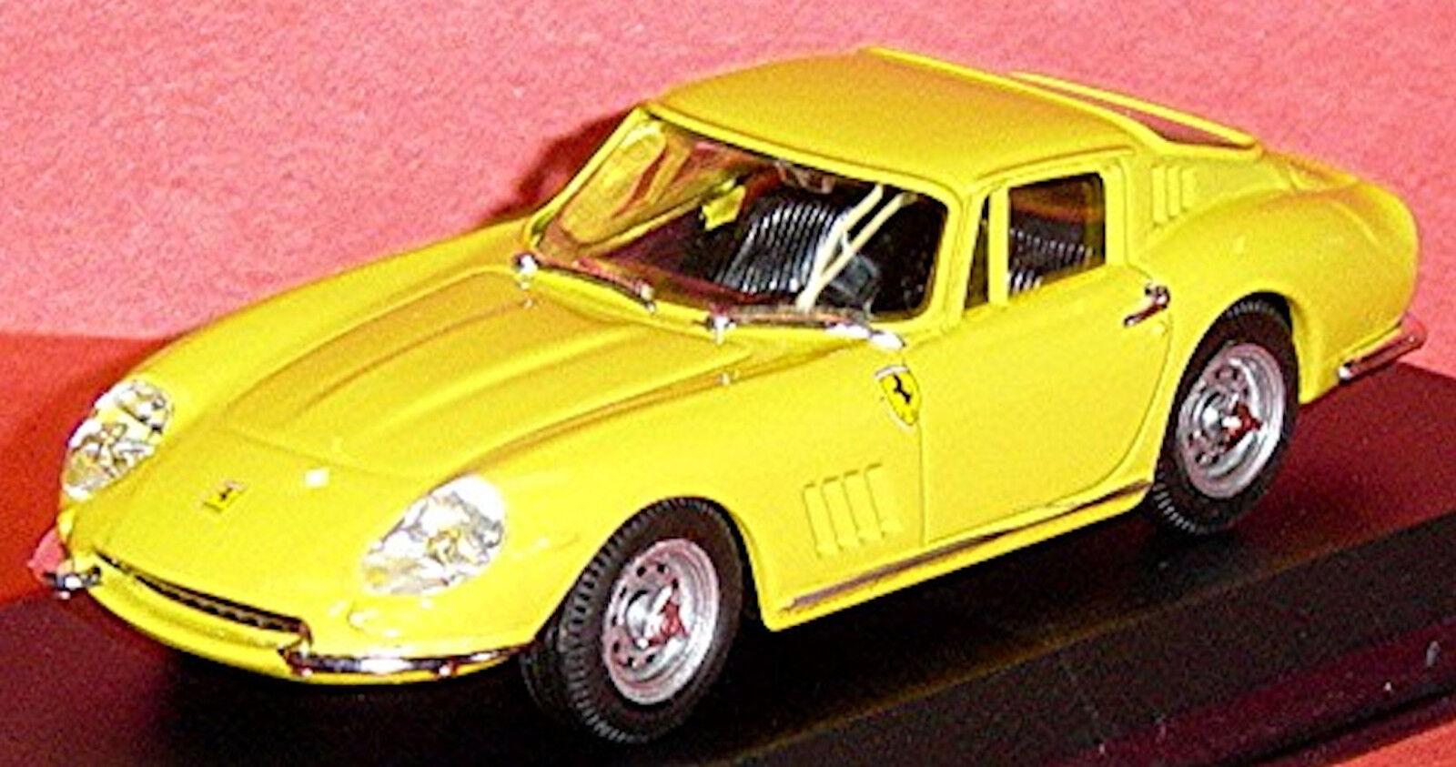 deportes calientes Ferrari 275 Gtb Gtb Gtb 4 Coupé Stradale 1964-68 Amarillo 1 43 Mejor Box  precios bajos