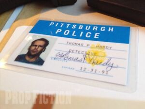 Striking-Distance-Tom-Hardy-Pittsburgh-Police-Detective-Prop-ID-Card