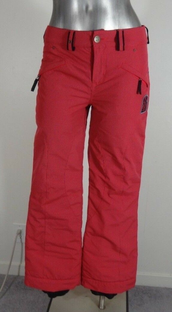 Bonfire Snowboards 10k 8k youth insulated grow-cuff snowboard ski pants L new