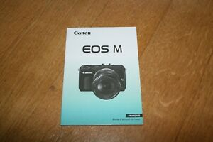 Mode-Demveronique-original-Canon-EOS-M-Manuelle-mode-d-039-emploi-francais