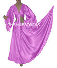 TMS Satin Skirt + Top Set Belly Dance Costume Tribal Gypsy Club Dress   27 Color