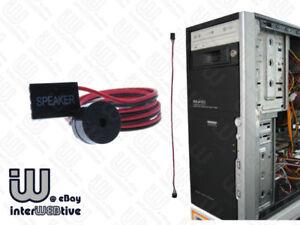 computer motherboard speaker 35cm super long cable ebay. Black Bedroom Furniture Sets. Home Design Ideas