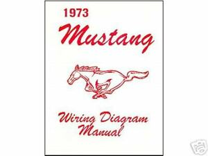image is loading 1973-73-mustang-mach-1-wiring-diagram-manual