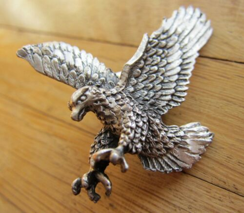 - Motorcycle 3 Dim MOTORRAD Pin // Pins: Adler altsilber- Edel! Eagle