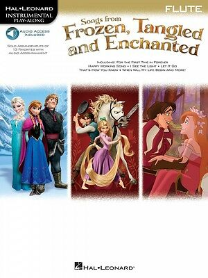 Musical Instruments & Gear Energetic Songs From Frozen Tangled And Enchanted Flute Instrumental Play-along 000126921 By Scientific Process