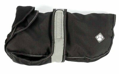 2 In 1 Black Dog Coat 70cm (28'') Superieure (In) Kwaliteit