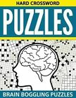 Hard Crossword Puzzles: Brain Boggling Puzzles by Speedy Publishing LLC (Paperback / softback, 2015)