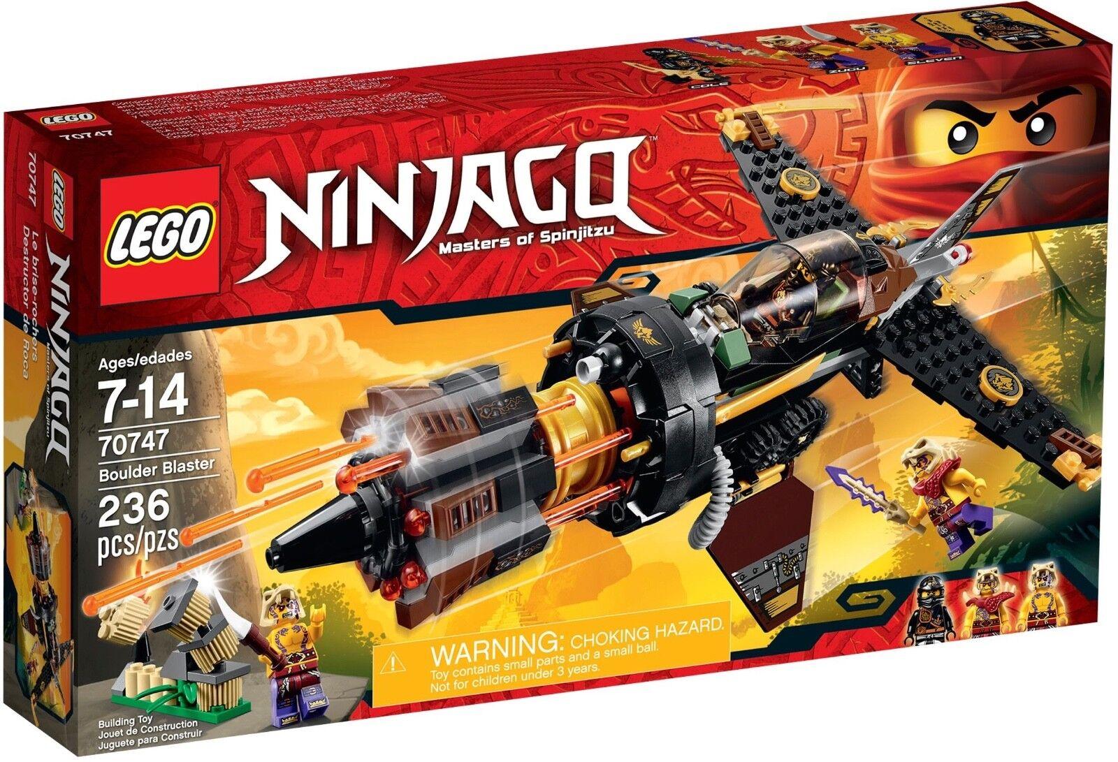 LEGO Ninjago 70747 Boulder Blaster Spinjitsu NEW Cole Minifigure minifig