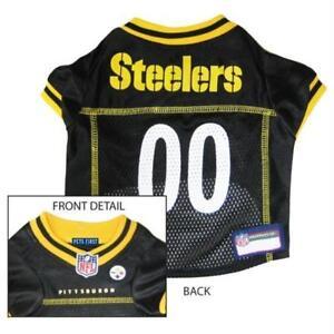 21bd31863 Pittsburgh Steelers Team Dog Jersey NFL Football Licensed Pet Wear ...