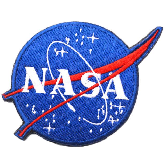 nasa space center astronaut program vector embroidery